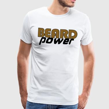 Beardpower - T-shirt Premium Homme