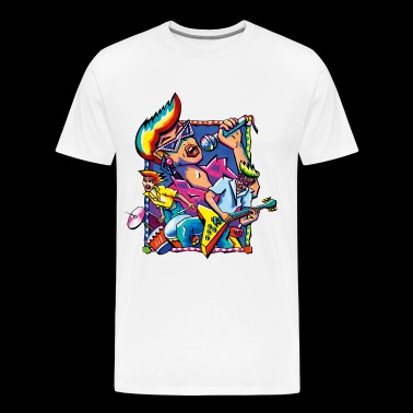 Disco - Men's Premium T-Shirt