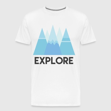 AD Explore - Men's Premium T-Shirt