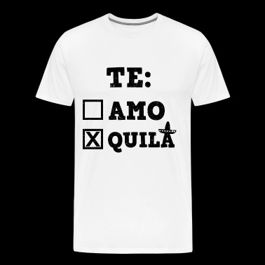 Mallorca Malle Holiday Party Tequila - Mannen Premium T-shirt