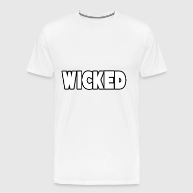Wicked - Premium-T-shirt herr