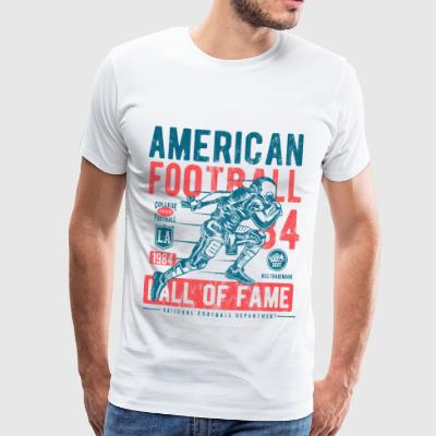 American Football hall of Fame - Sport Shirt Motiv - Männer Premium T-Shirt