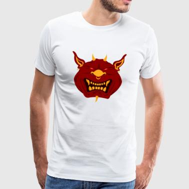 Monstre Démon Diable - T-shirt Premium Homme