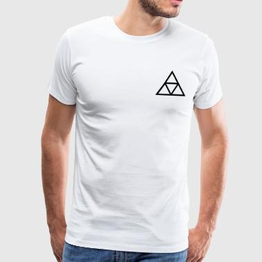 triangles - T-shirt Premium Homme