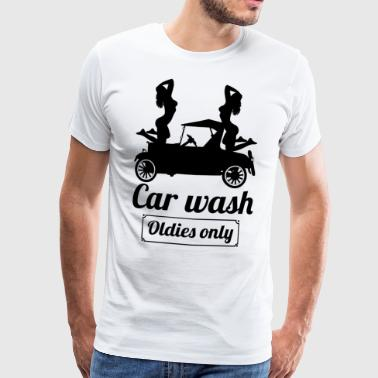 carwasholdies blak - T-shirt Premium Homme