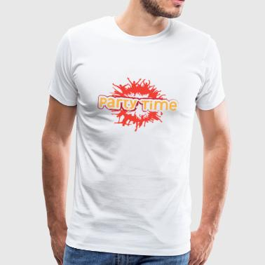 PARTY TIME - Premium T-skjorte for menn