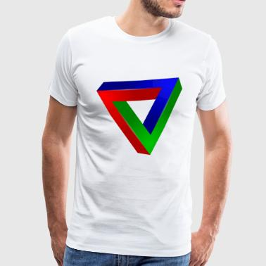 Impossible triangle - T-shirt Premium Homme