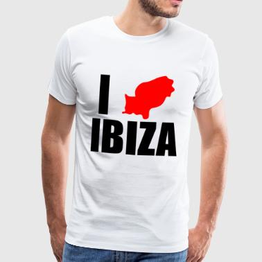 i love ibiza - Men's Premium T-Shirt