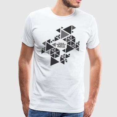 triangles - Men's Premium T-Shirt