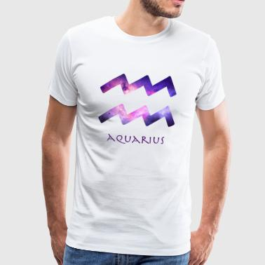 Aquarius - Premium T-skjorte for menn