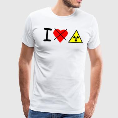 I dont love nuclear power - Men's Premium T-Shirt