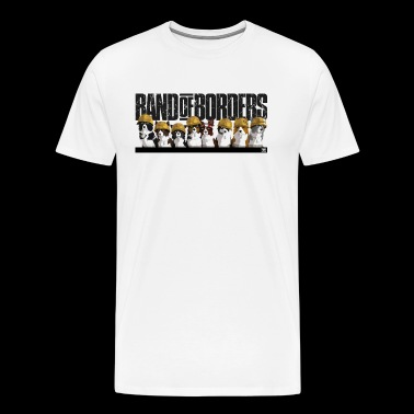 Band Of Borders - Desert - Black - Mannen Premium T-shirt