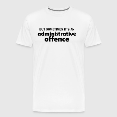 offense - Men's Premium T-Shirt