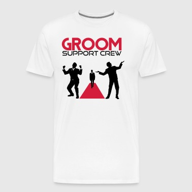 Groom support Crew - Men's Premium T-Shirt