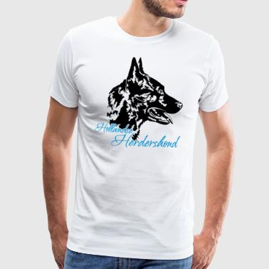 Dutch Shepherd Dog - Premium T-skjorte for menn
