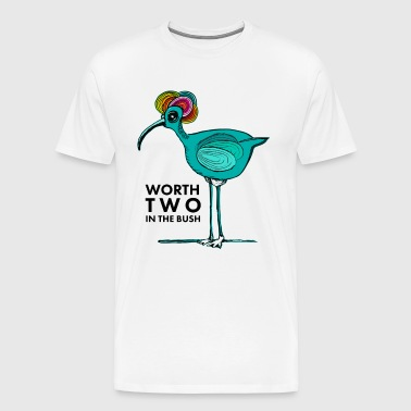 Folk bird - Men's Premium T-Shirt