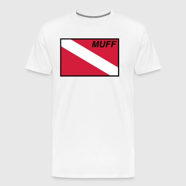 Muff Diver Flag - Men's Premium T-Shirt