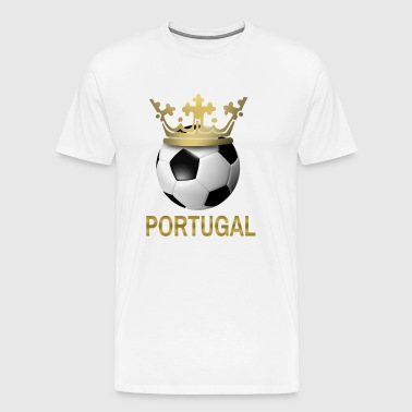 Portugal Football Game Bundesliga European Championship World Cup Sport Cool - Men's Premium T-Shirt