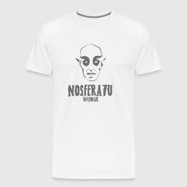 Nosferatu head Wismar - Men's Premium T-Shirt