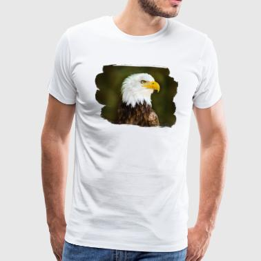 Eagle on the side - Men's Premium T-Shirt