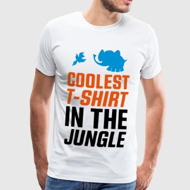 KOELSTE SHIRT in de jungle - H & M - Mannen Premium T-shirt