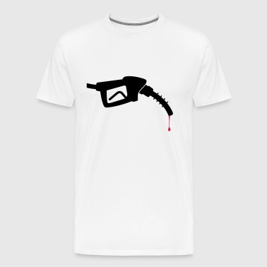 A nozzle with blood - Men's Premium T-Shirt