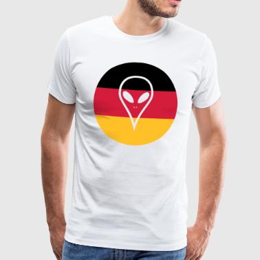 Germany football jersey - Men's Premium T-Shirt