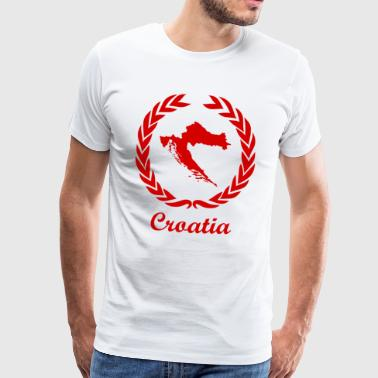 "Se connecter ExYu Red Edition ""Croatie"" - T-shirt Premium Homme"
