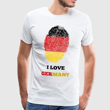 GERMANY GERMANY GERMANIA GIFT T-SHIRT - Men's Premium T-Shirt