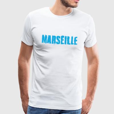 Marseille Graffiti Trash - T-shirt Premium Homme