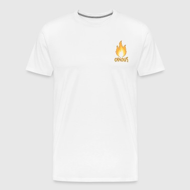 flamme odieuse Outlined - T-shirt Premium Homme