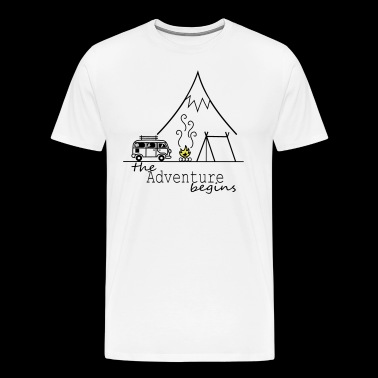 The Adventure begins - Männer Premium T-Shirt