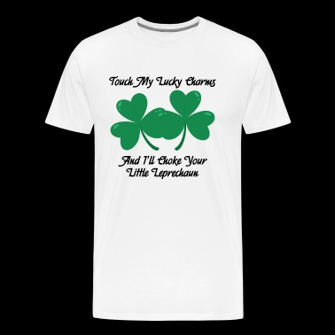 Touch my lucky charms - Men's Premium T-Shirt