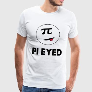pi eyed - Premium T-skjorte for menn
