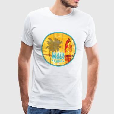 Maui Hawaii - Men's Premium T-Shirt