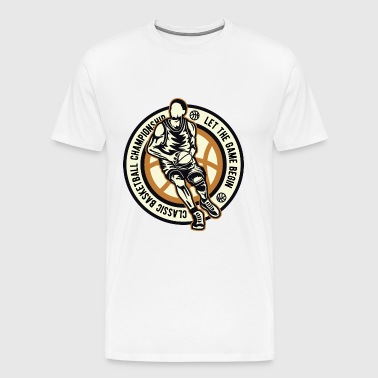 BASKETBALL CHAMPIONSHIP - Basketball Shirt Design - Men's Premium T-Shirt