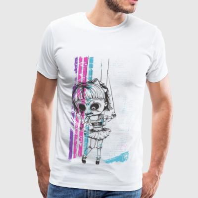 PUPPETS GIRL - Helloween dolls shirt gift - Men's Premium T-Shirt