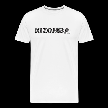 Kizomba laser Black - Men's Premium T-Shirt