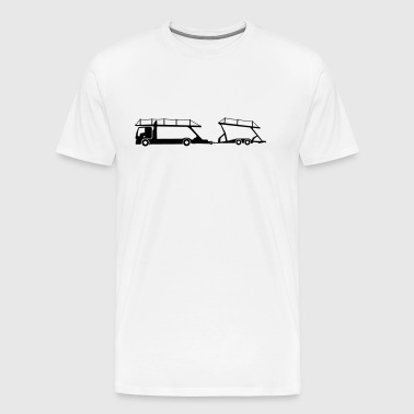 transport autotransporter_b1 - Herre premium T-shirt