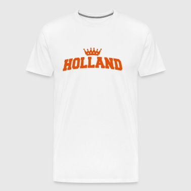holland met kroon - Men's Premium T-Shirt