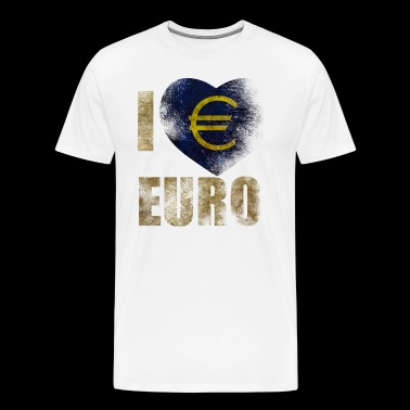 EURO I love Euro - Men's Premium T-Shirt