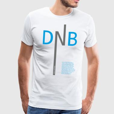 Drum and Bass DNB - Men's Premium T-Shirt