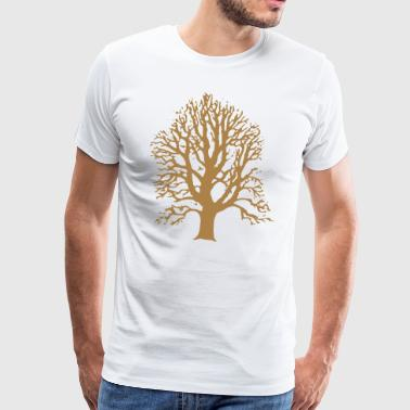 Tree without leaves - Men's Premium T-Shirt