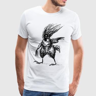 chicken man - Mannen Premium T-shirt