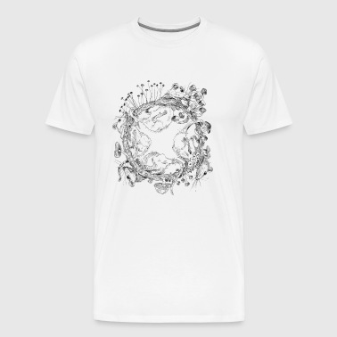 rat race / rat race / mushrooms - Men's Premium T-Shirt