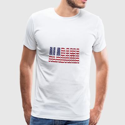Alabama USA - Männer Premium T-Shirt