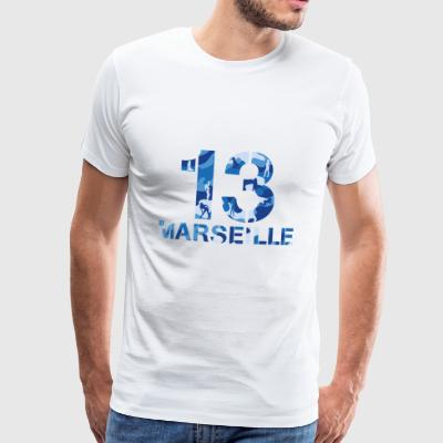 Marseille Militaire Fille Sexy - T-shirt Premium Homme