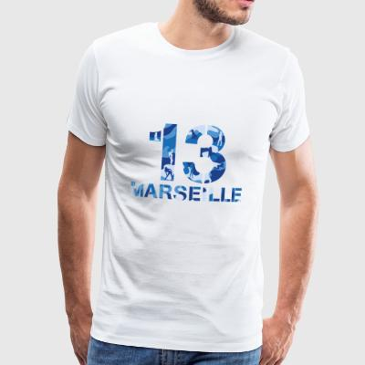 Marseille Military Sexy Girl - Men's Premium T-Shirt