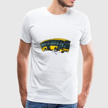 0712 bus yellow - Men's Premium T-Shirt