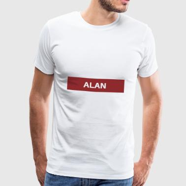 Alan - Premium T-skjorte for menn